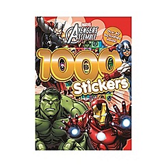 The Avengers - 1000 Stickers activity book