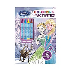 Disney Frozen - Colouring and Activities