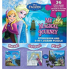 Disney Frozen - My magical journey storybook and 2-in-1