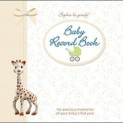 Sophie la girafe - Baby record book