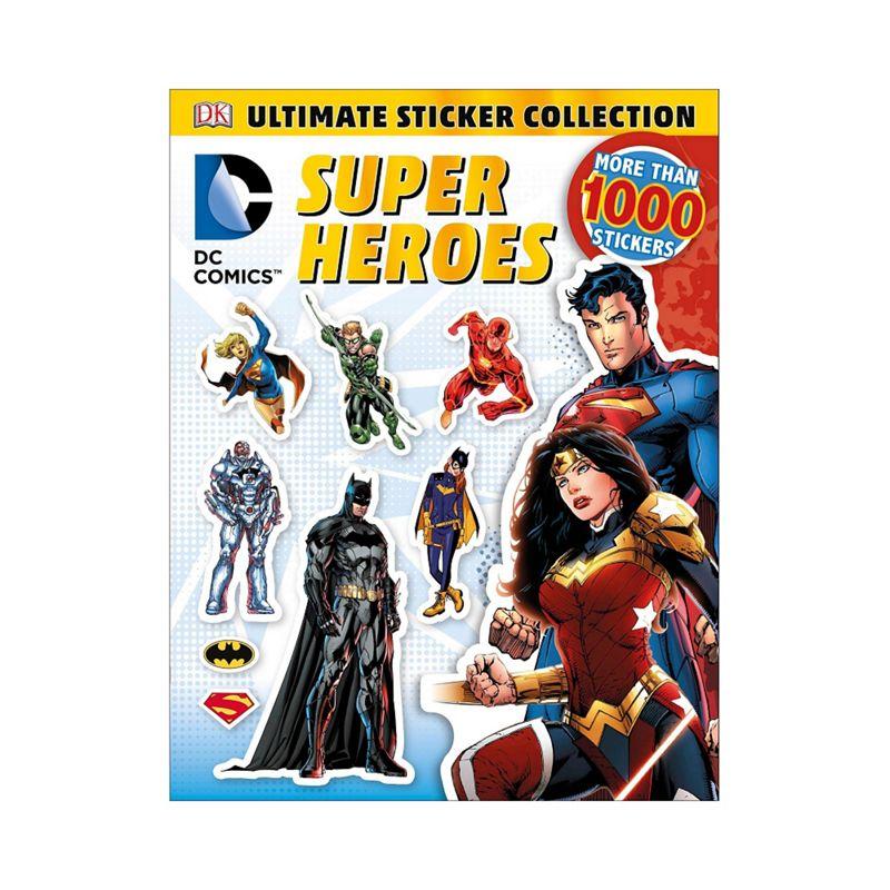 DC Comics Activity book