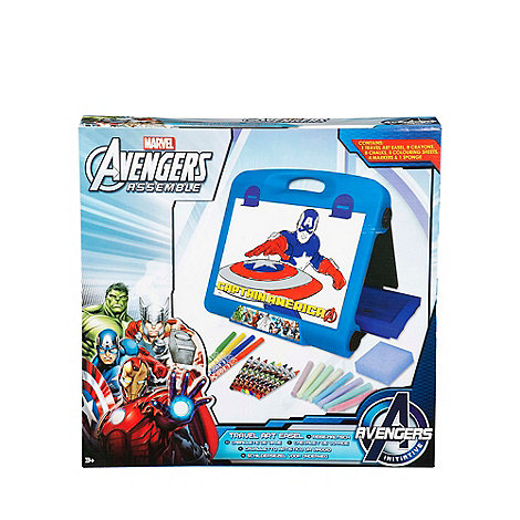 Toys sale debenhams the avengers assemble travel art easel negle Images