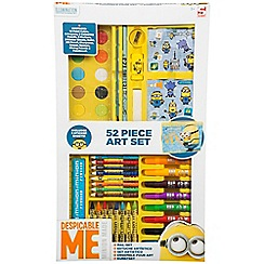 Despicable Me - Minions 52 Piece Art Case with Window