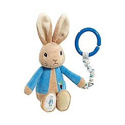 Beatrix Potter - Peter Rabbit pram toy
