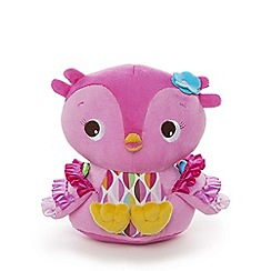 Bright Starts - Pretty in Pink Hootie Cutie Plush Toy