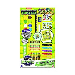 Teenage Mutant Ninja Turtles - 52 piece 'Half Shell Heroes' art case
