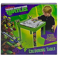 Teenage Mutant Ninja Turtles - Colouring Table