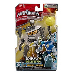 Power Rangers - Dino Super Charge Mixx N Morph Graphite Figure