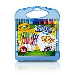 Crayola - Supertips Washable Markers and Paper Set