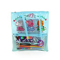 Peppa Pig - Stationery filled Tote Bag