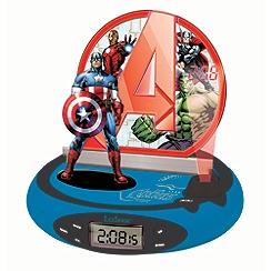 The Avengers - Projector Radio Clock