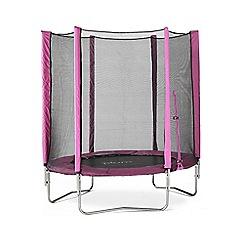 Plum - 6ft trampoline - pink