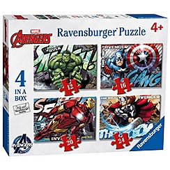 The Avengers - 4 in a Box Jigsaw Puzzles