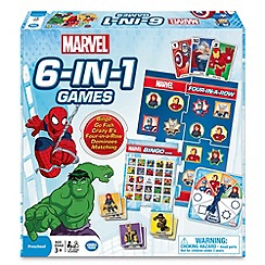 Marvel - 6 in 1 Games