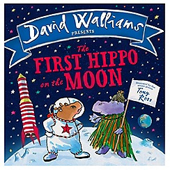 Harper Collins - The First Hippo On The Moon' book
