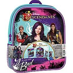 Descendants - Stationery filled backpack