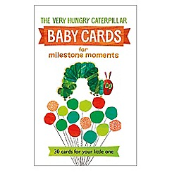 The Very Hungry Caterpillar - Baby Cards for Milestone Moments