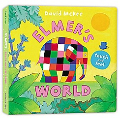 Penguin - Elmer's Touch and Feel World book