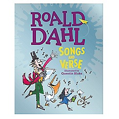 Roald Dahl - Songs and Verse book