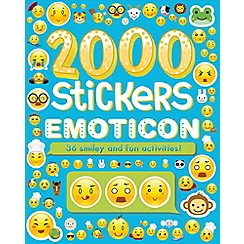 Parragon - 2000 stickers emoticons book
