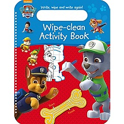 Paw Patrol - Wipe-clean activity book