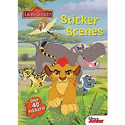 Disney The Lion Guard - Complete each awesome page with your stickers!