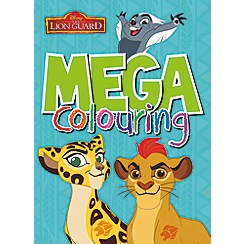 Disney The Lion Guard - Lion Guard mega colouring book
