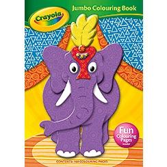 Crayola - Jumbo Colouring Book