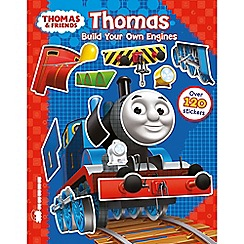 Thomas & Friends - Build your own engines sticker book