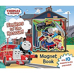 Thomas & Friends - Magnet book: engines to the rescue! book