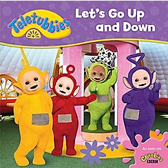 Teletubbies - Let's go up & down cased board book