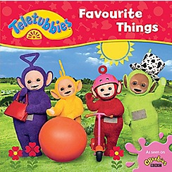 Teletubbies - Favourite things cased board book