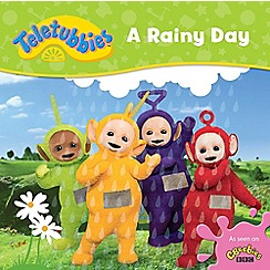 Teletubbies - A rainy day cased board book