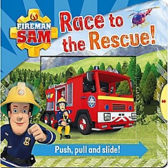 Fireman Sam - Race to the rescue pull and pop book