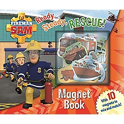 Fireman Sam - Magnet book: ready, steady, rescue! book