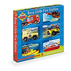 Fireman Sam - Busy little fire station book