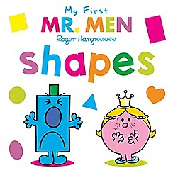 Mr Men - Shapes book