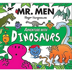 Mr Men - Adventure: dinosaurs book