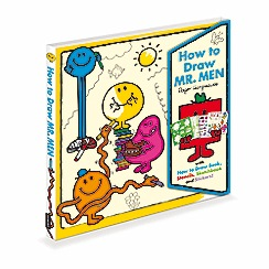 Mr Men - How to draw book