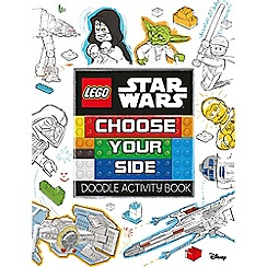 LEGO - Star Wars doodle book choose your side book