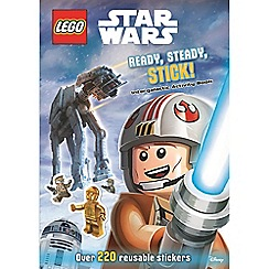 LEGO - Star Wars ready steady stick! book