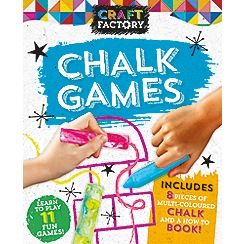 Parragon - Craft factory: chalk games book