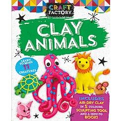 Parragon - Craft factory: clay animals book