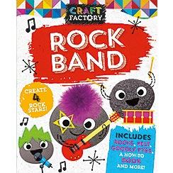 Parragon - Craft factory: rock band book