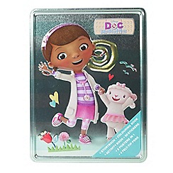 Doc McStuffins - Happy tin book