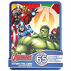 The Avengers - Storytelling adventures premium tin book