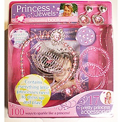 Parragon - My princess jewellery set book