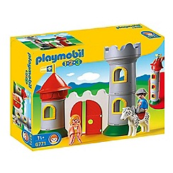 Playmobil - My First 1.2.3 Knight's Castle - 6771