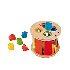 Early Learning Centre - Wooden Rolling Shape Sorter