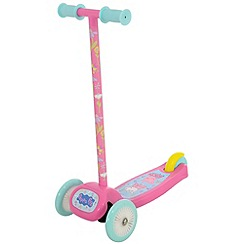 Peppa Pig - Pink Tilt n Turn Scooter